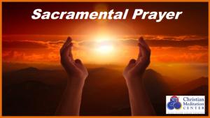 Sacramental Prayer